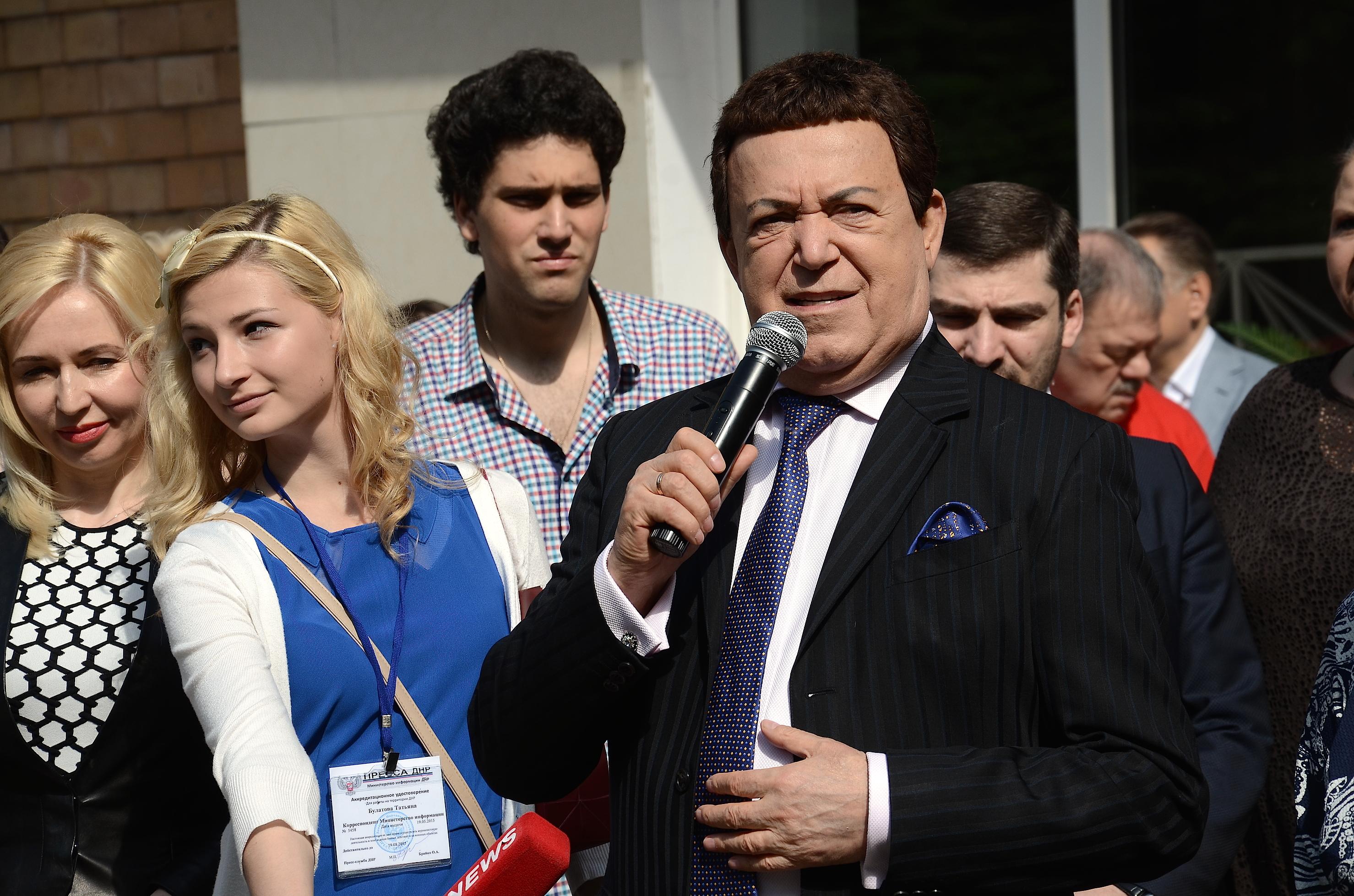 Kobzon agrees with Milonov's initiative on the Eurovision boycott 01.03.2017 68