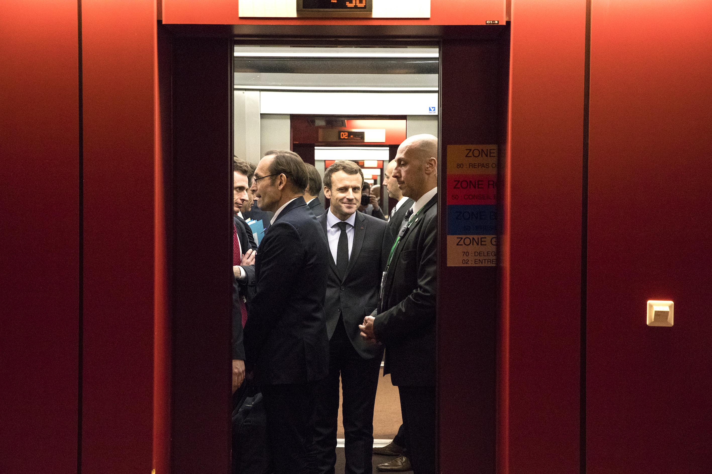 Macron warns Britain on access to European Union single market