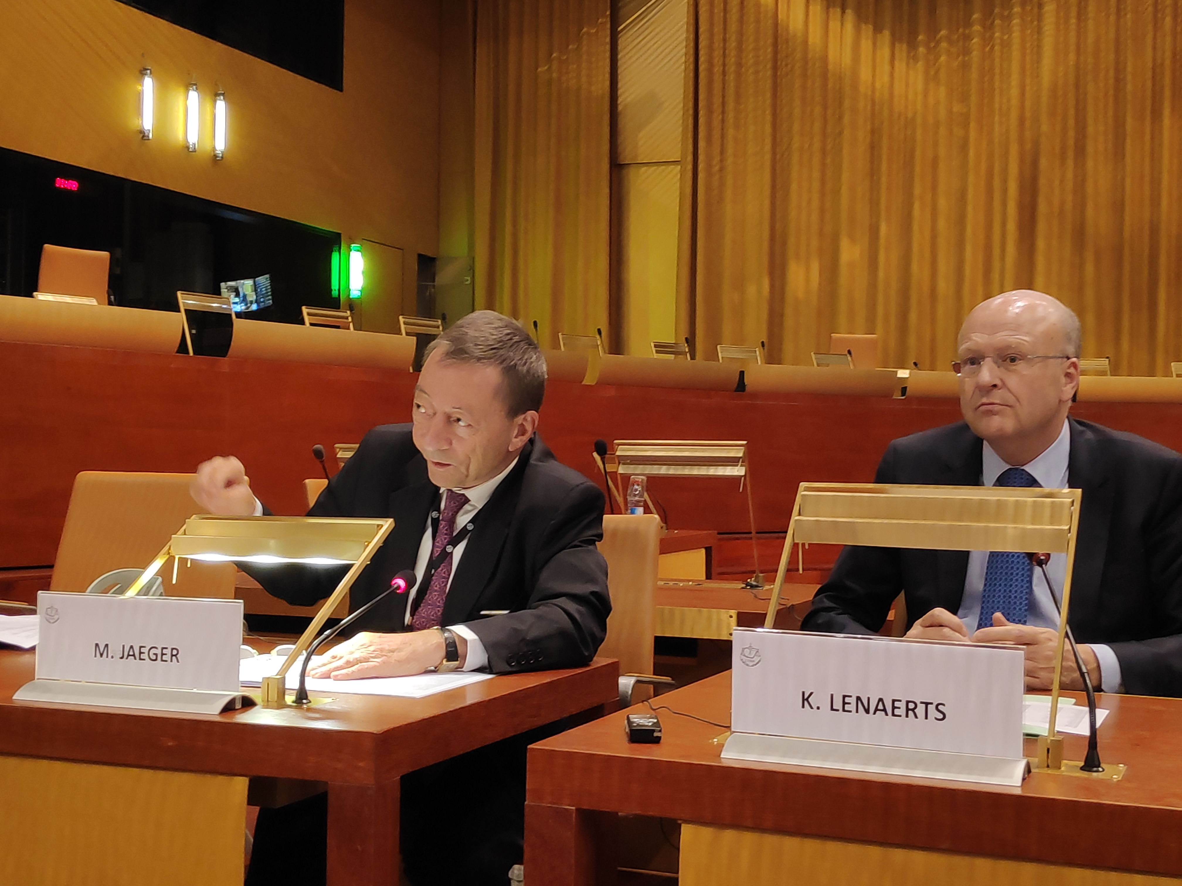 EU court chief defends MEPs' expenses secrecy