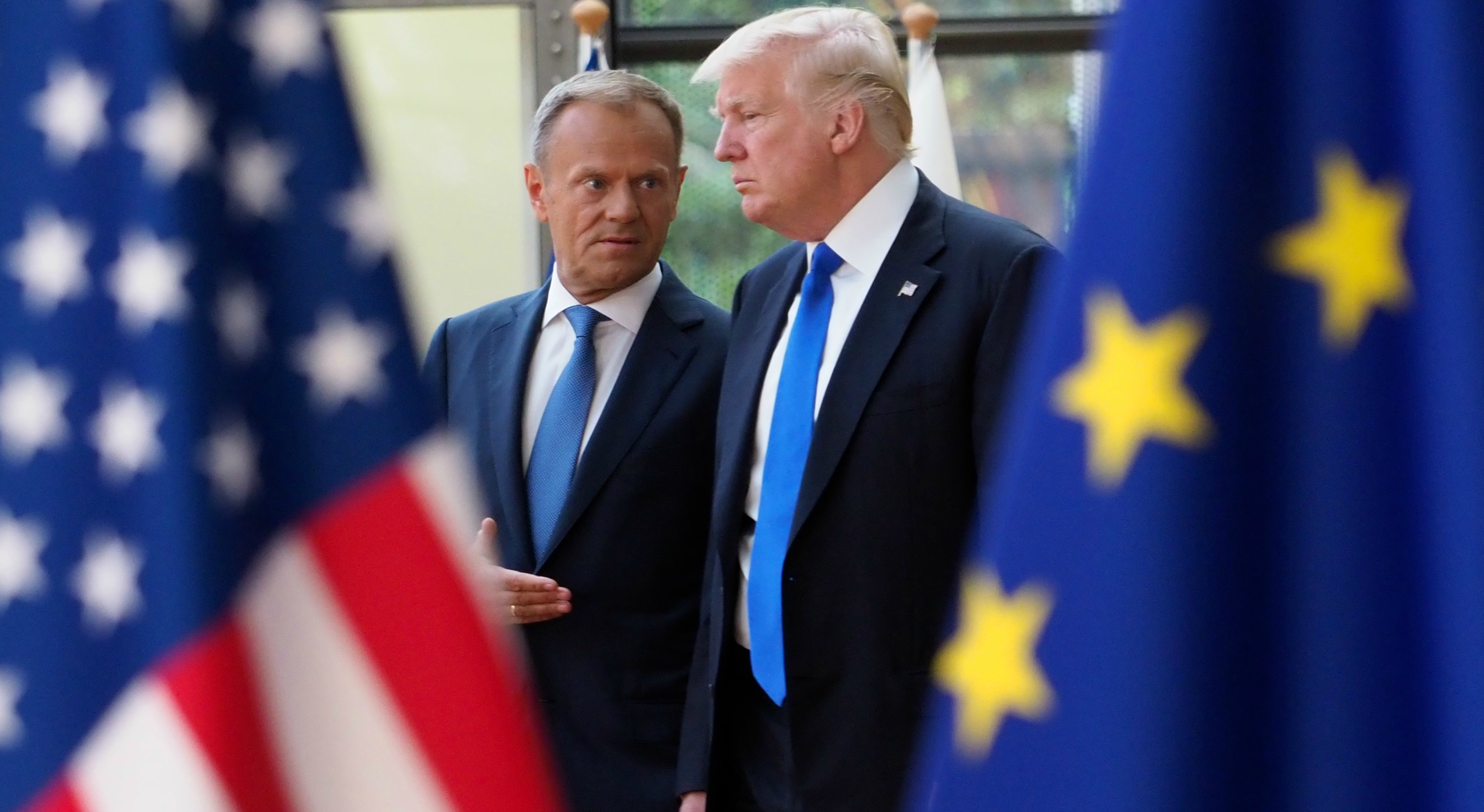 Donald Trump believes EU27 more united after Brexit vote, Donald Tusk says