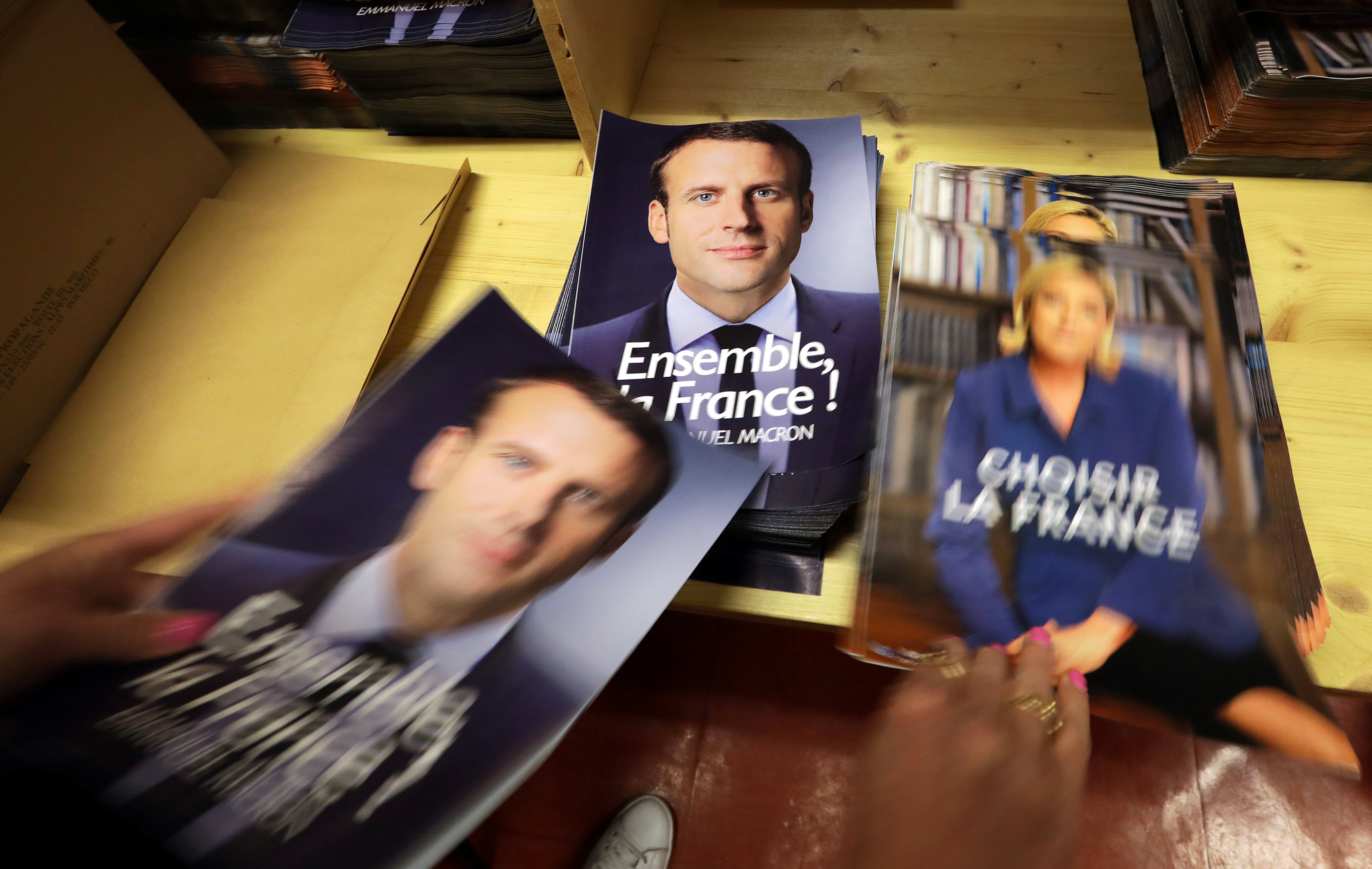 Voting underway in French presidential election run-off