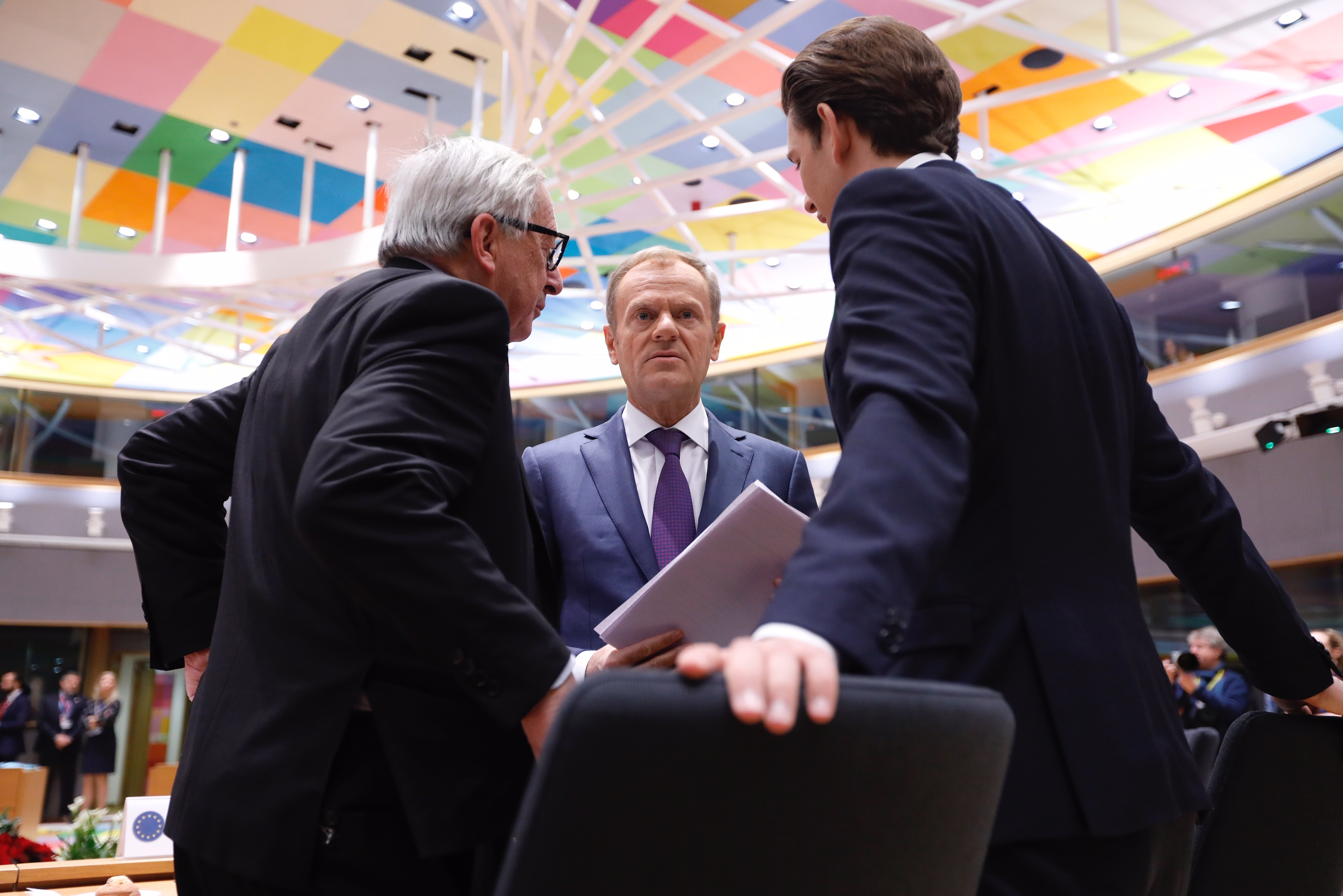 European Union leaders pledge to work for untied, strong Europe
