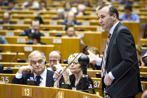 Weber: EU parliament needs coalition to keep out radicals