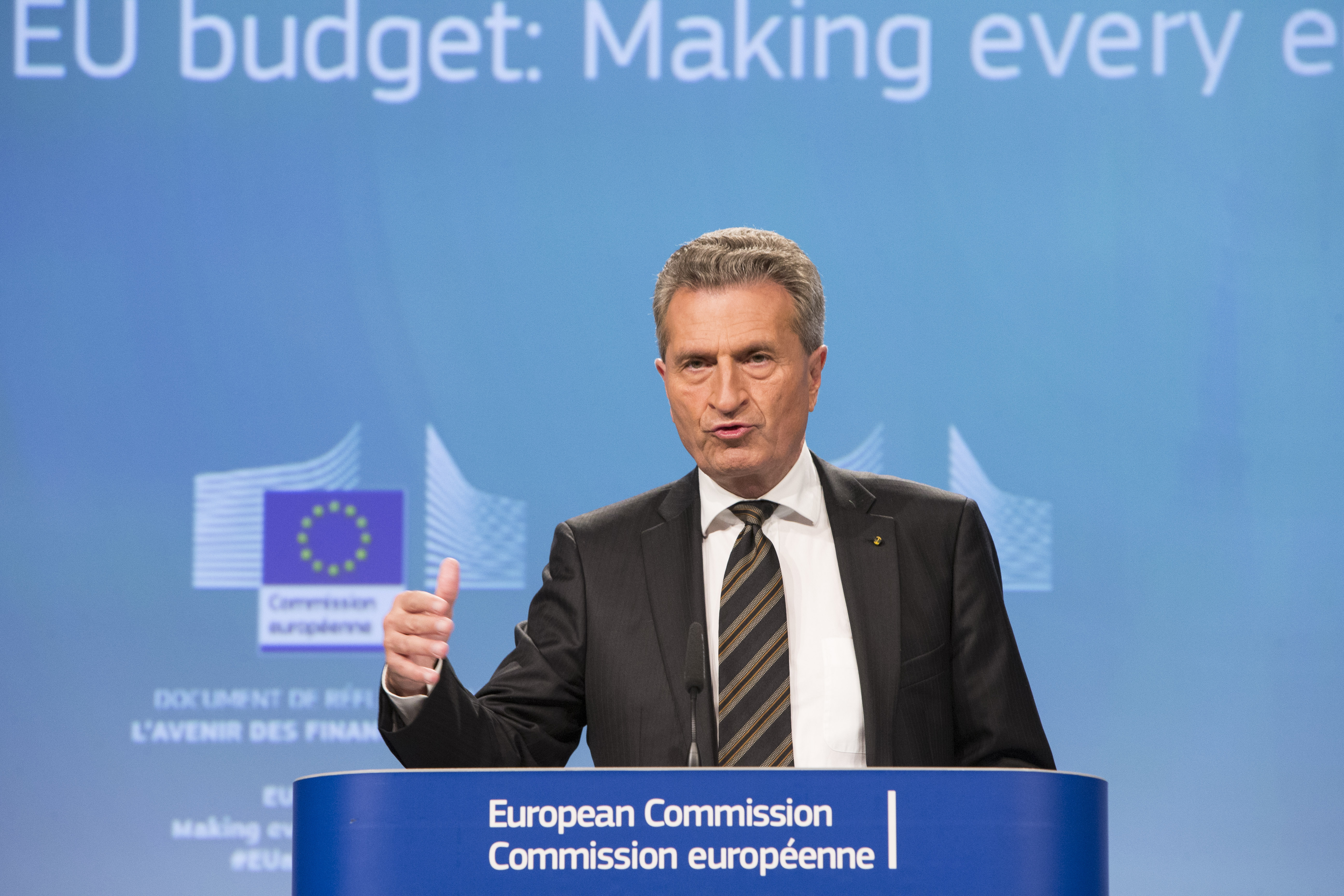 Commissioner: Brexit could see €20bn annual hole in European Union  budget