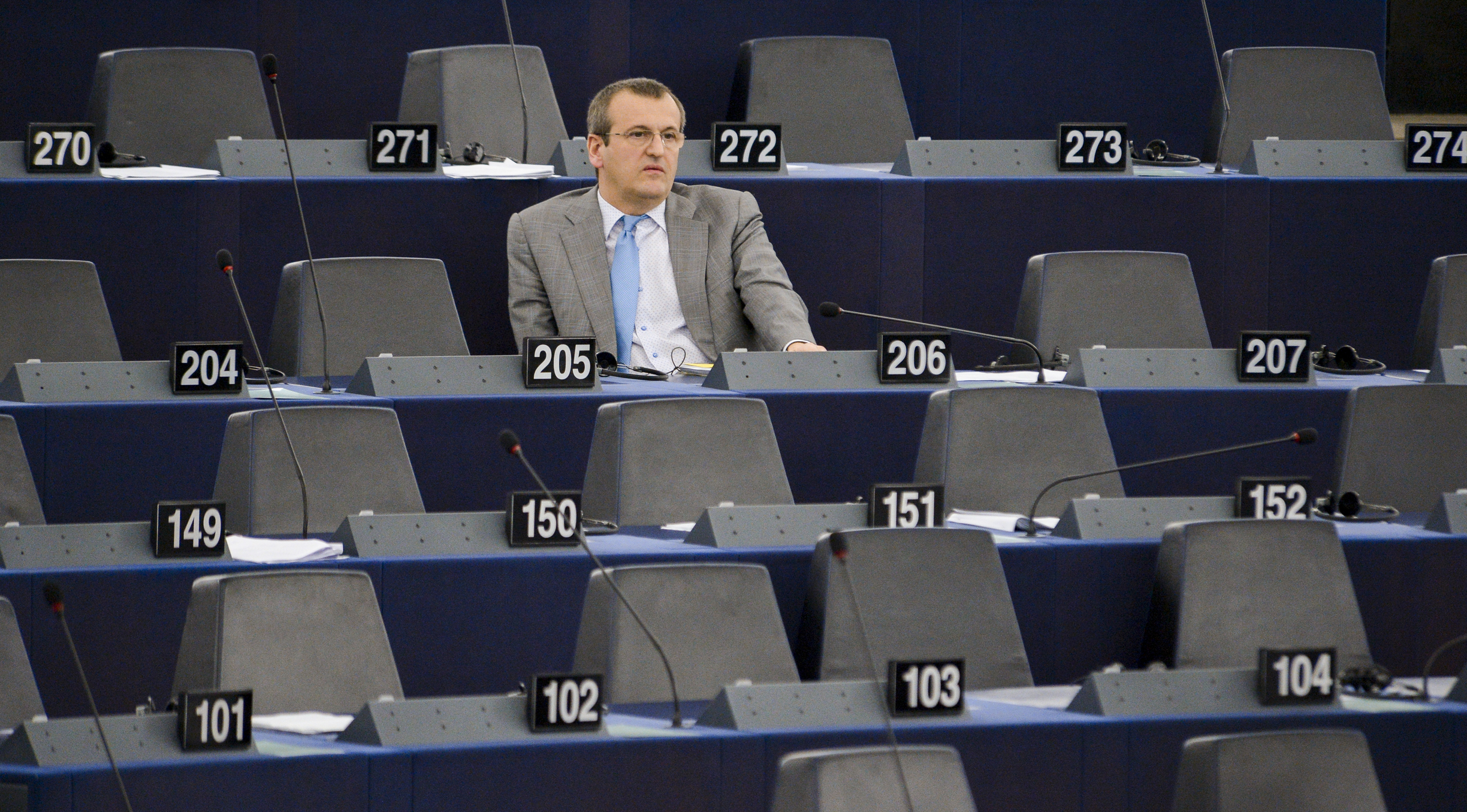 [EUobserved] MEPs in Strasbourg: Everywhere but the plenary