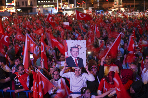 Erdogan backsliding after 2016 coup