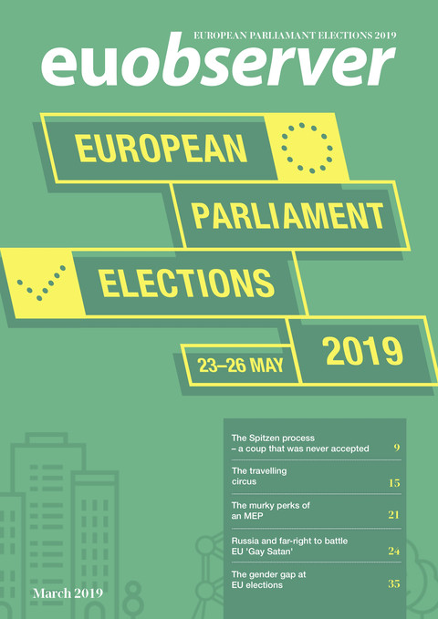 400c5939dc4b89 Magazine. All about the European Parliament elections 2019