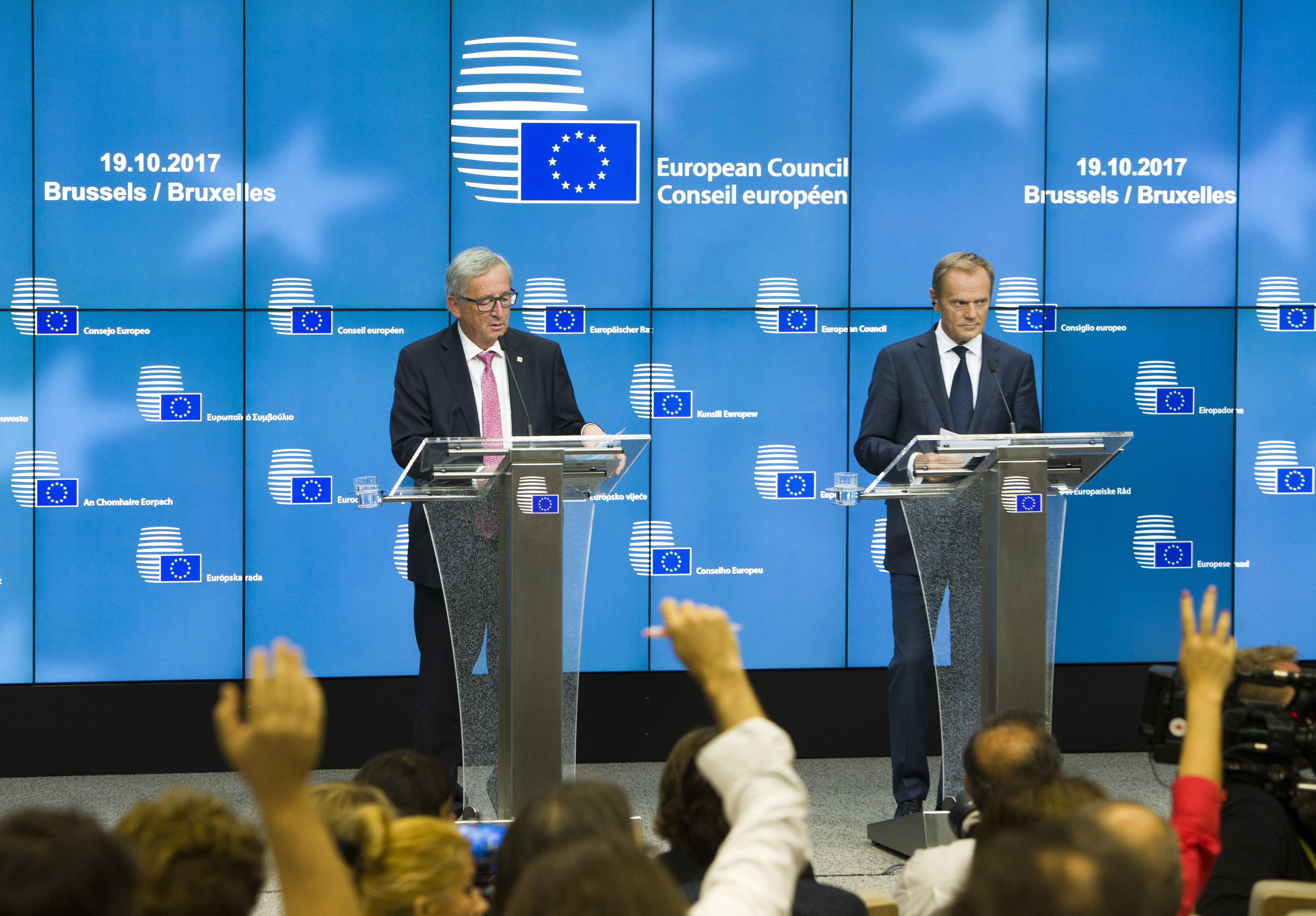 No role for European Union  mediation in Catalonia crisis - Tusk