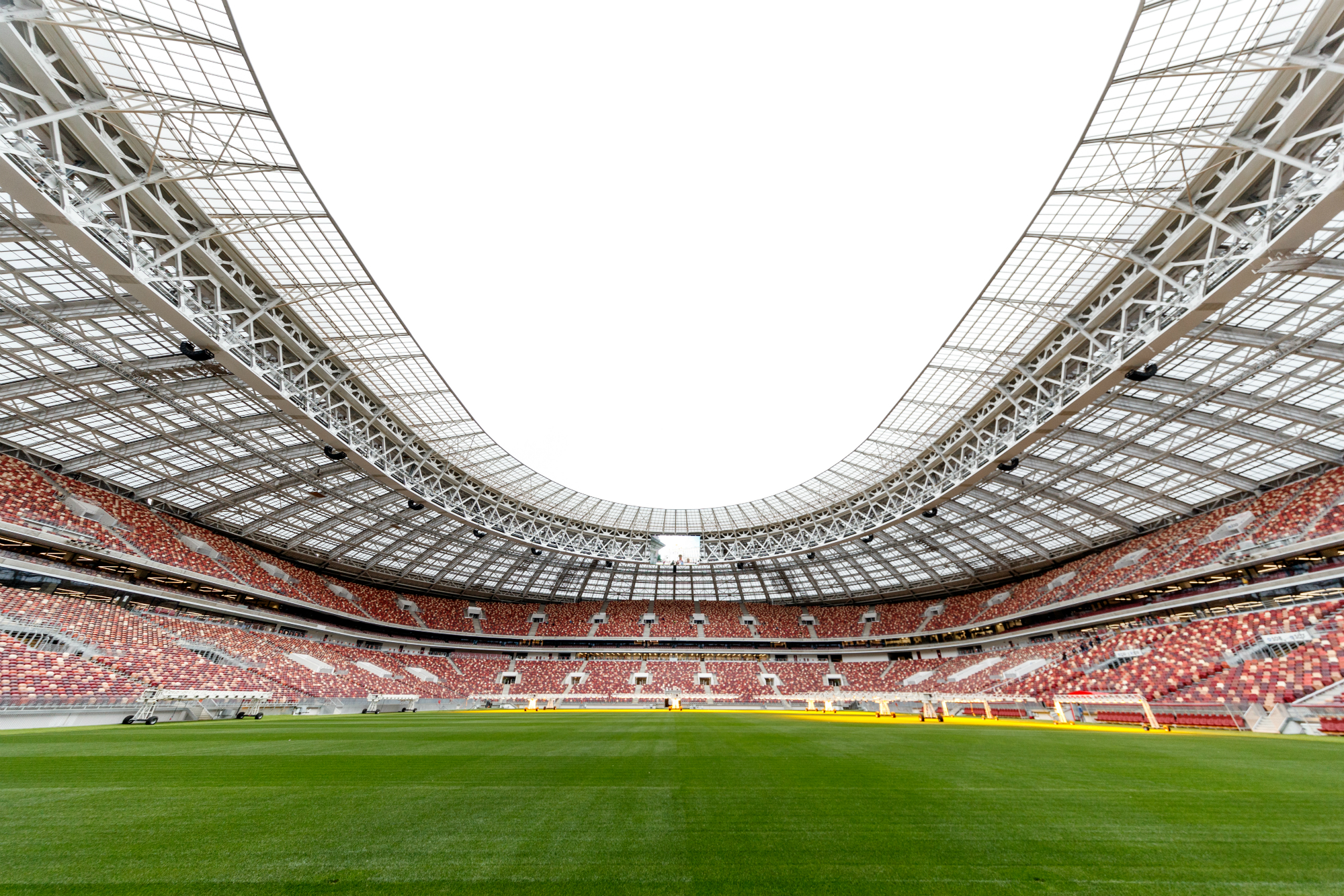 Green Stadiums At The 2018 Fifa World Cup