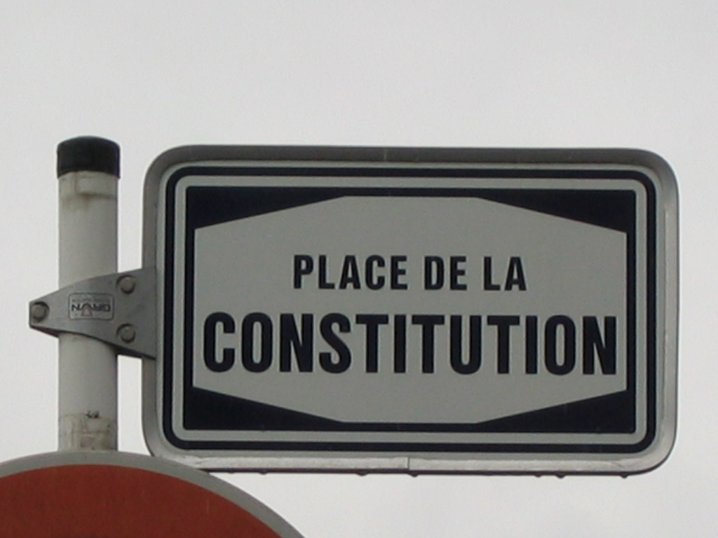 how to write a constitution of an association