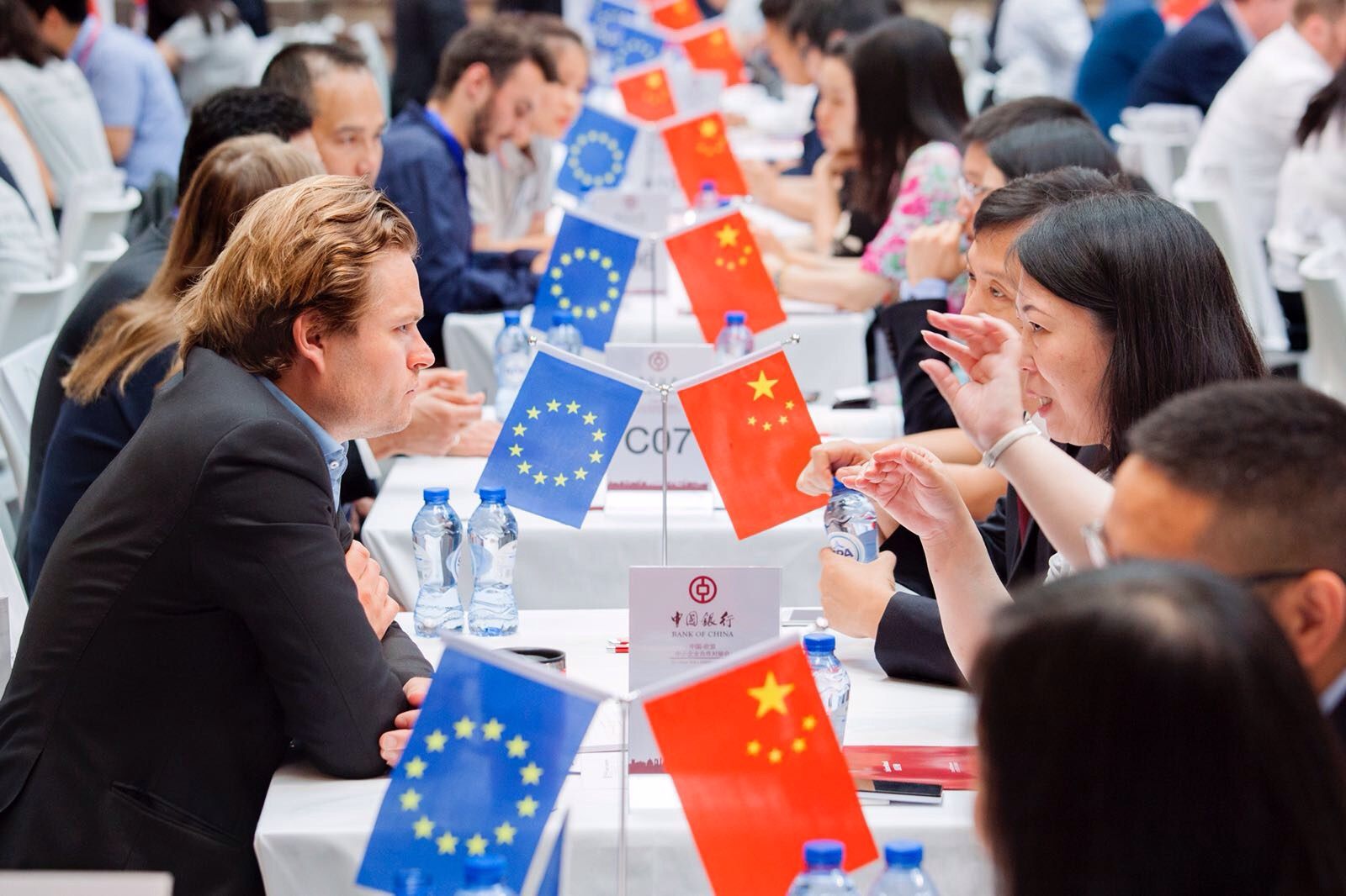 EU and Chinese SMEs matchmake in Brussels