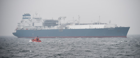 U S Natural Gas Arrives In Lithuania Foreign Affairs
