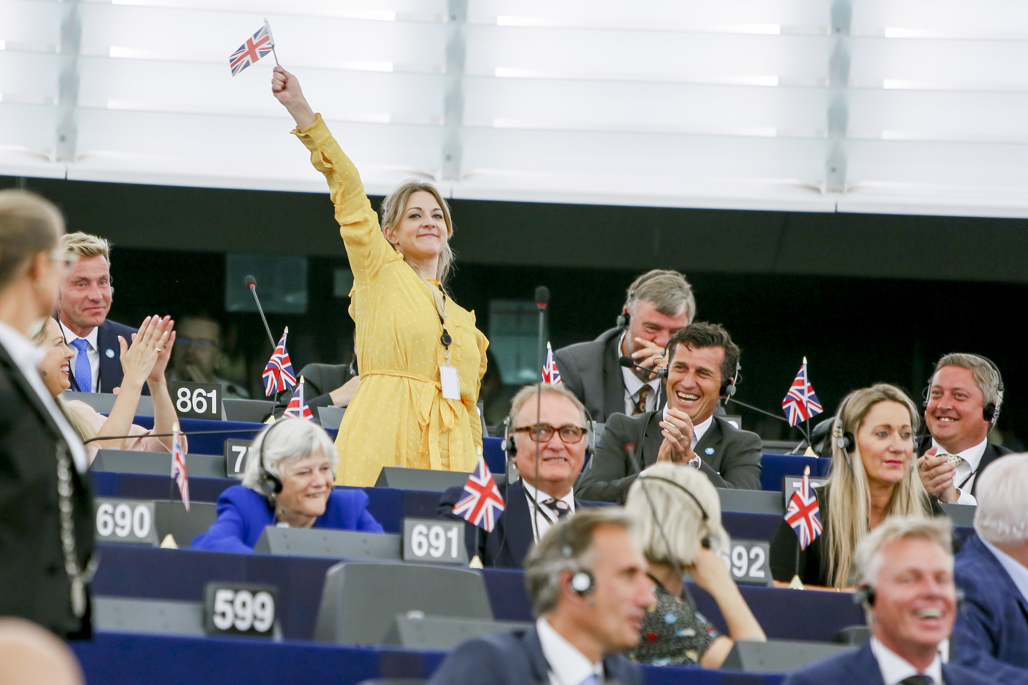 Conflicts of interest loom for Brexit Party MEPs