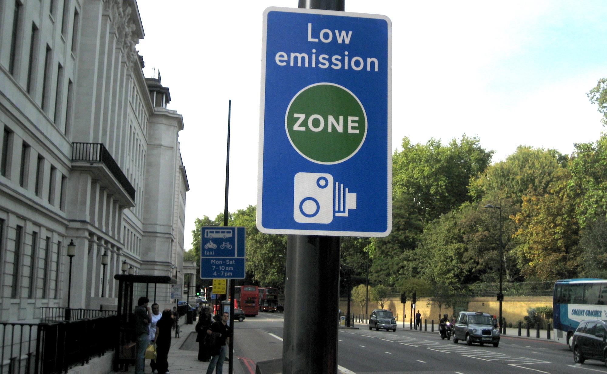 Картинки по запросу low emission zone