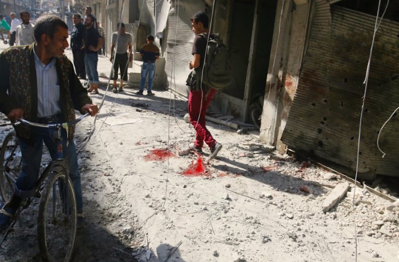 Fresh wave of airstrikes hit Syria's Aleppo
