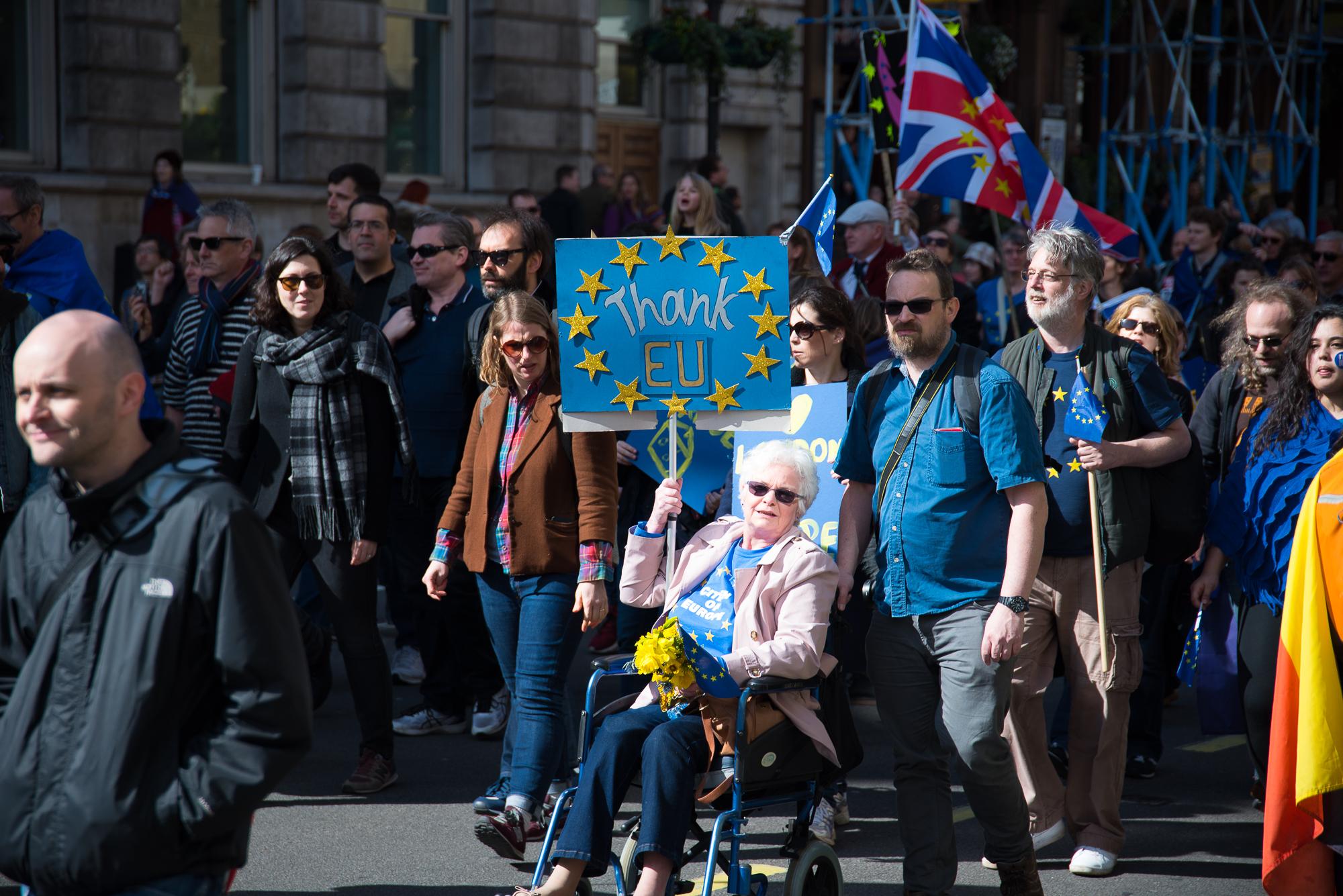 Europeans more positive about EU, survey shows