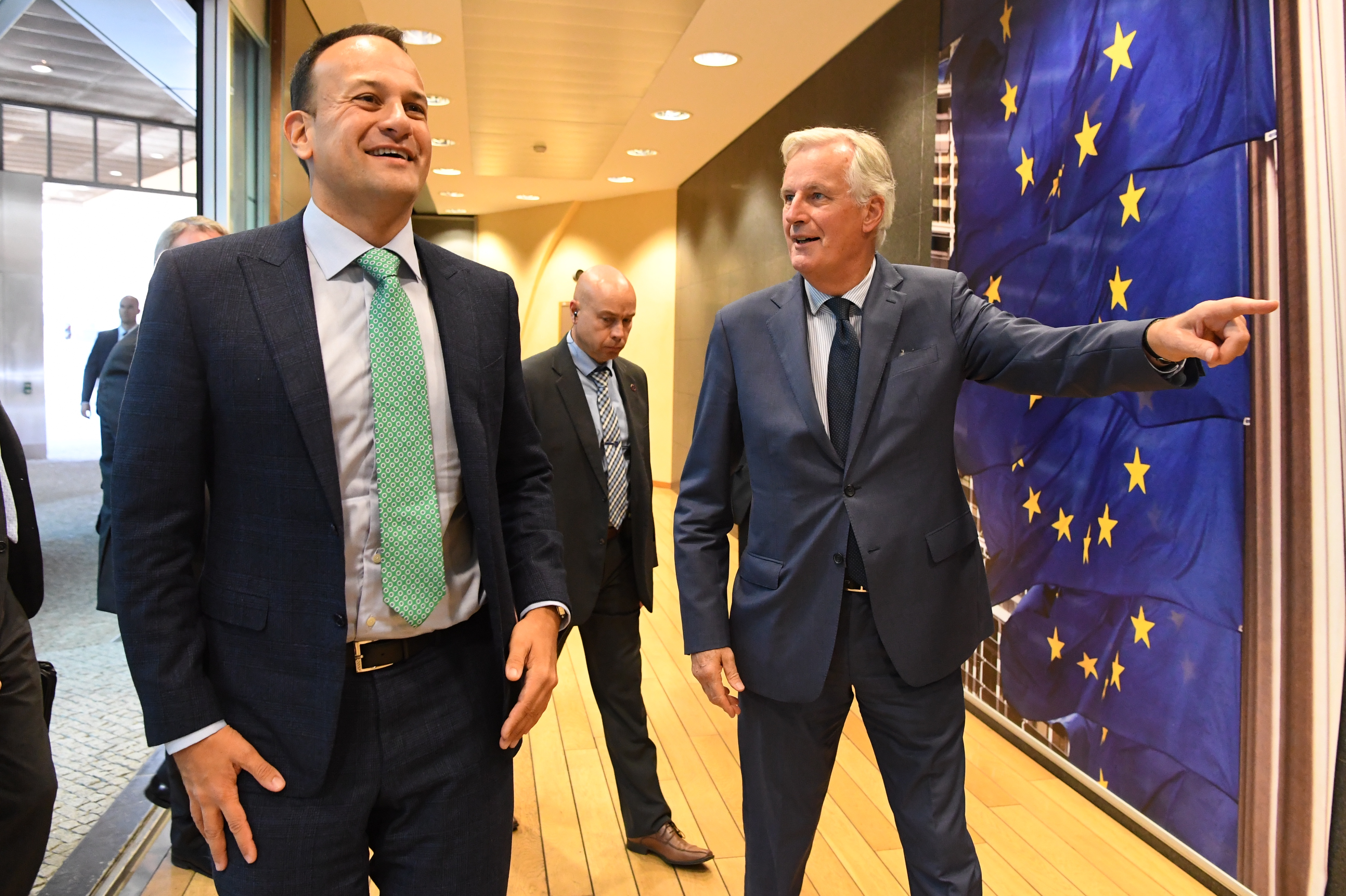 'Brexit is not going to go away,' warns EU's Barnier