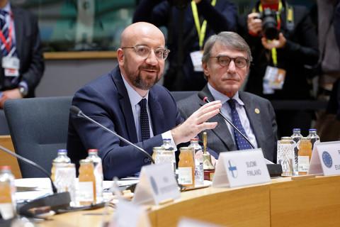 Los líderes de la UE cautelosos en la conferencia 'El futuro de Europa' 12