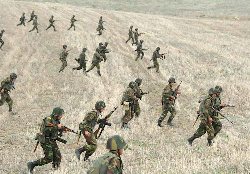 Armenia-Azerbaijan war: line of contact