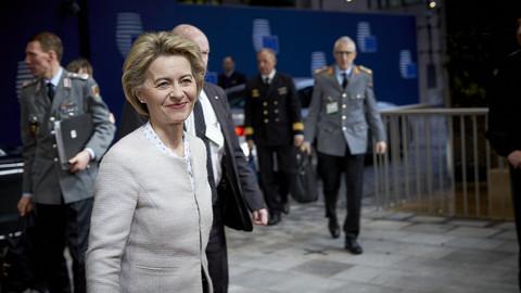 Greens eye 'kingmaker' role among MEPs for von der Leyen