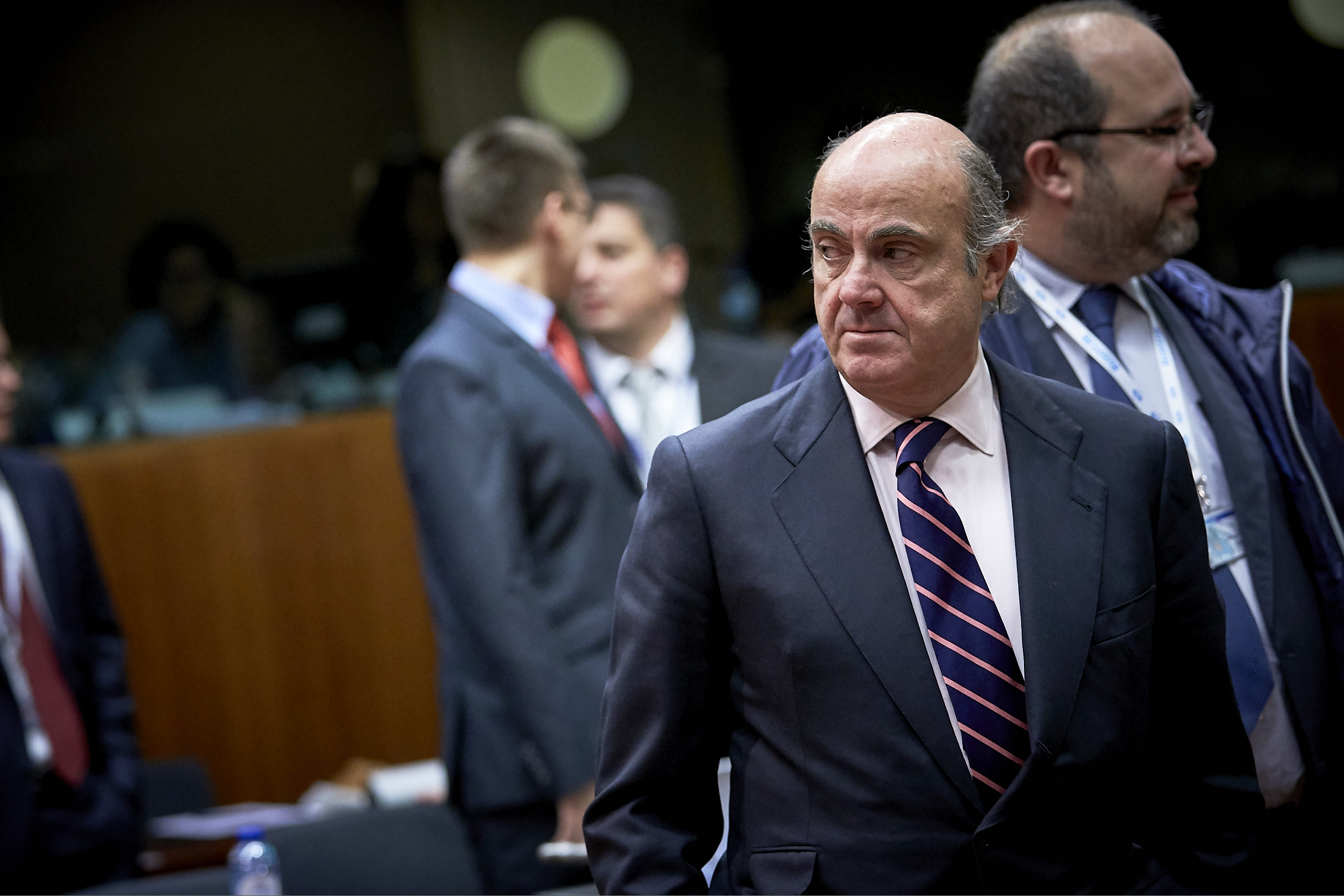 Eurogroup backs Spain's Luis de Guindos to be next European Central Bank  vice president