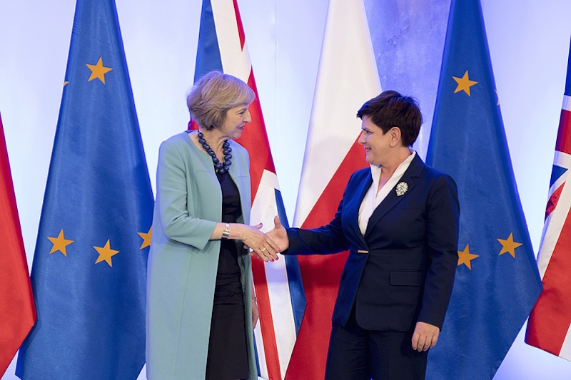 Polish and UK PMs discuss post-Brexit reality