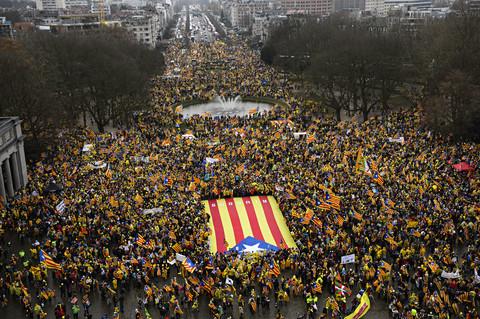 Catalonia celebrates national day ahead of trail verdicts