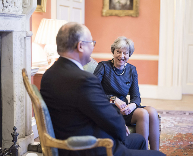 PM May has met with MEP Roberto Gualtieri to talk about citizens&#039 rights
