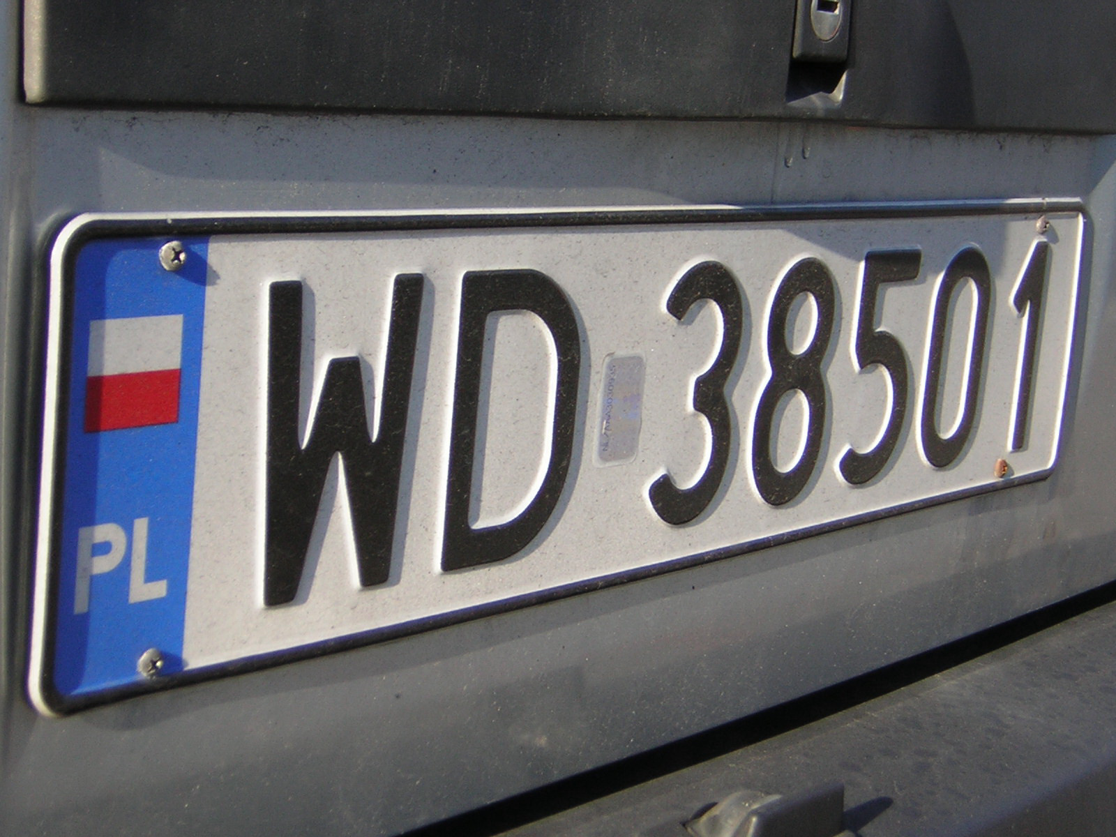how to know registration number of car