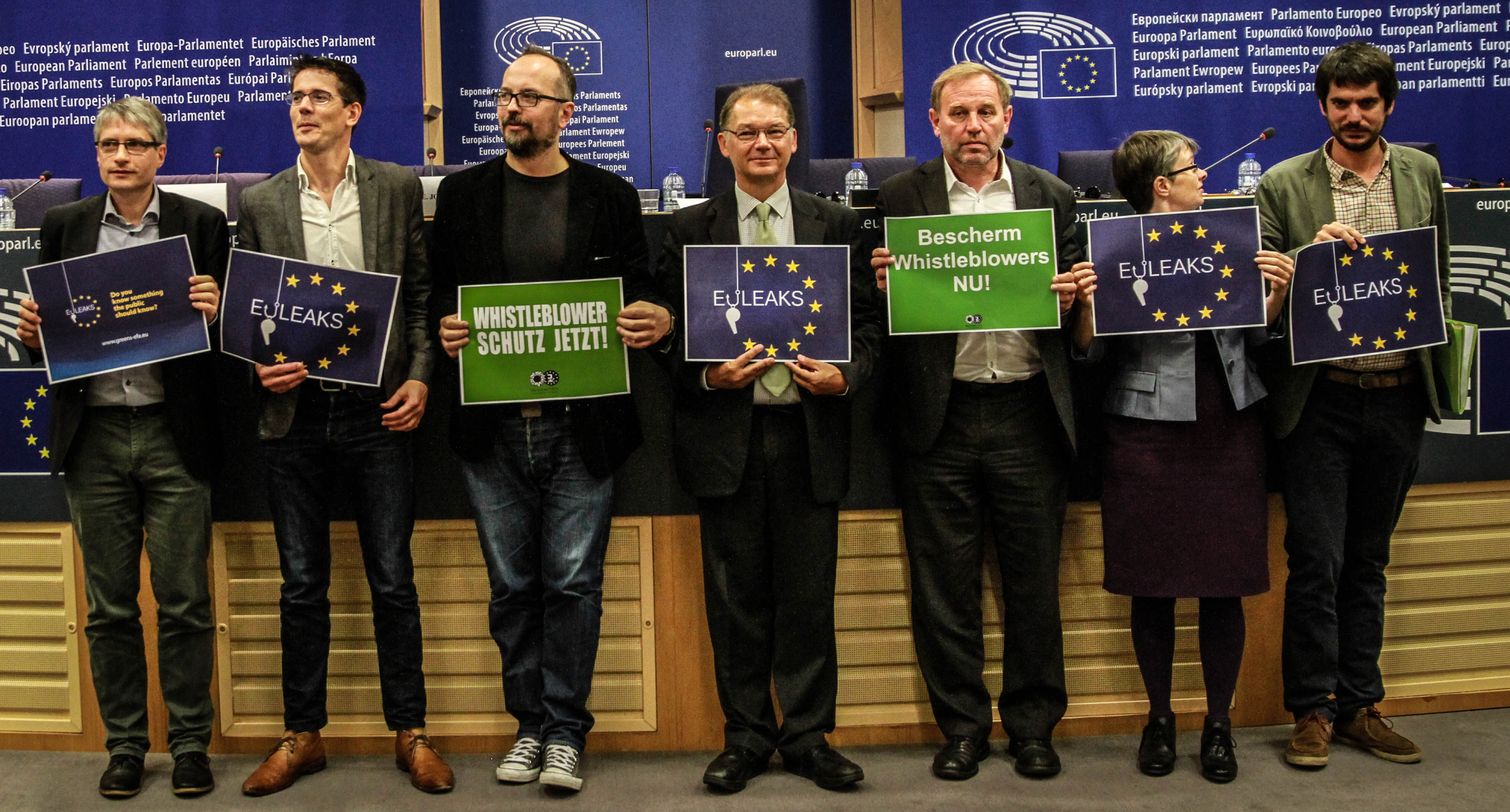 Green MEPs launch EUleaks