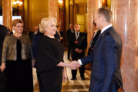 EU and Romanian leaders quarrel at presidency launch