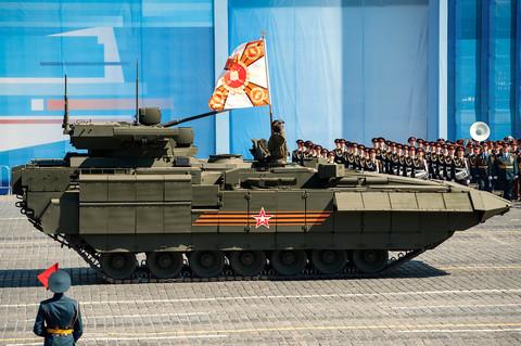 EU ambassadors flock to Red Square for Putin's parade