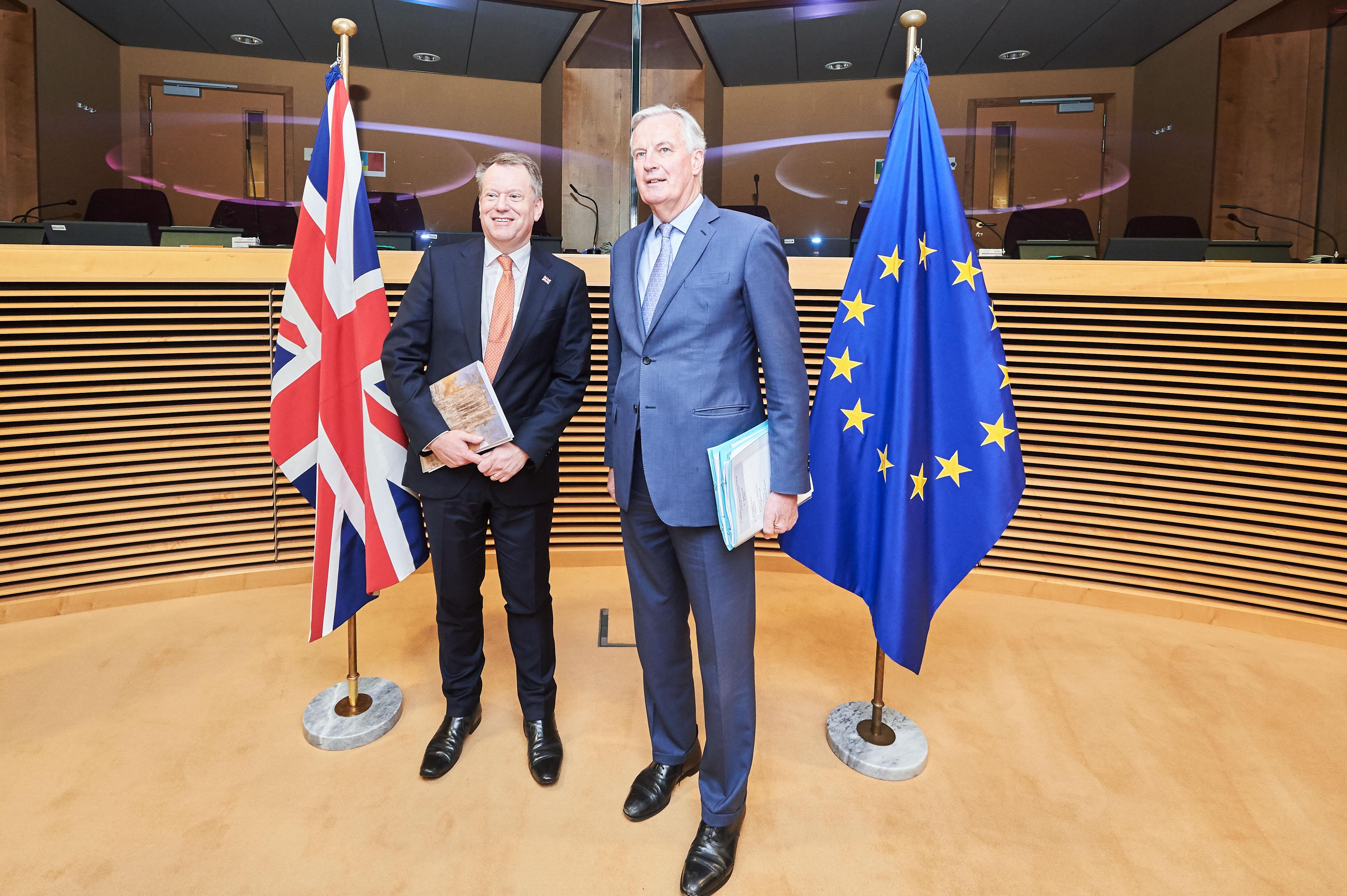 EU's Barnier warns of big divergences with United Kingdom in talks