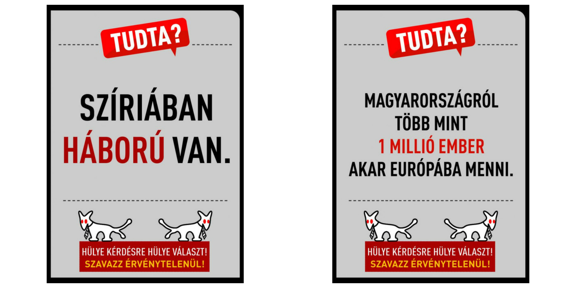 Hungary S Satire Party Takes On Migrant Referendum