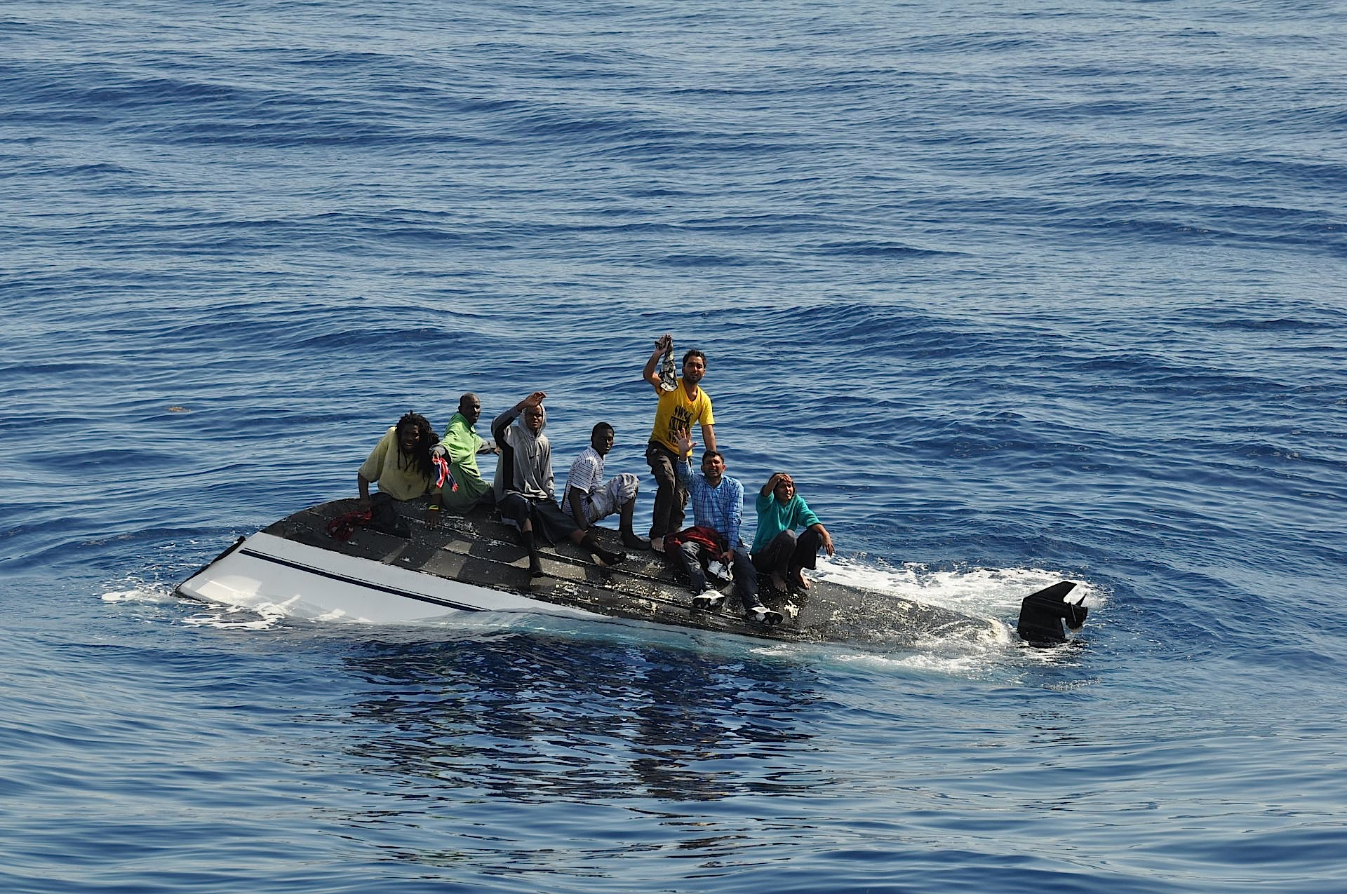 Eu Mulls Boat Sinking Plans To Curb Migrant Smugglers