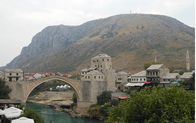 Pakket ophalen in Bosnië-Herzegovina