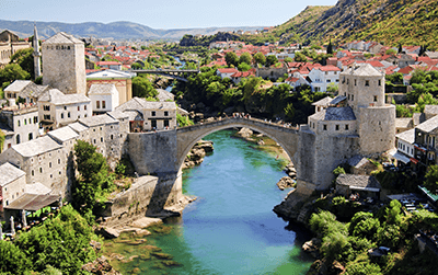Pakket bezorgen naar Bosnië-Herzegovina