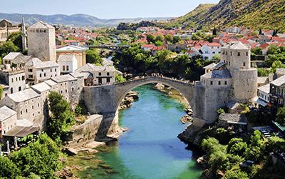 La livraison de colis en Bosnie-Herzégovine