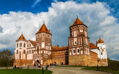 Prevzem paketov v Belorusiji