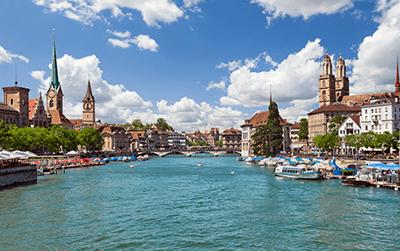 Entrega de paquetes a Suiza