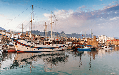 Levering af pakker til Cypern