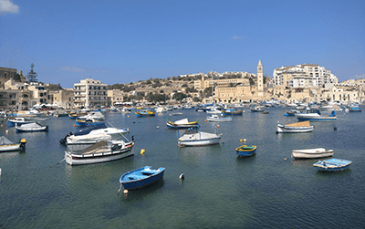 Odbiór przesyłki - Malta