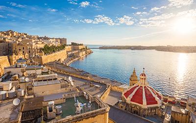 Pakket bezorgen naar Malta