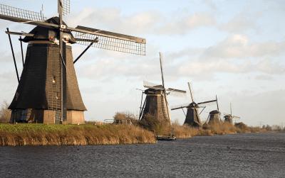 Ritiro di pacchi nei Paesi Bassi