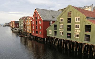 Prevzem paketov na Norveškem
