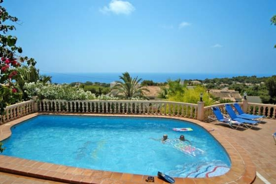 Villa for rent in Javea