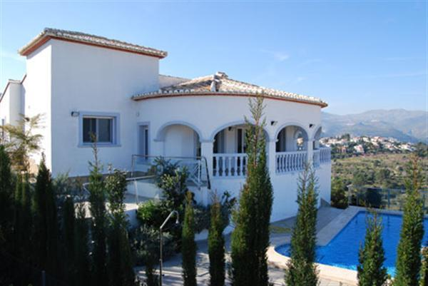 Entry - Parking area and steps to villa.Entrance - Hallway leading to:- Utility Room Shower Room - w, Spain
