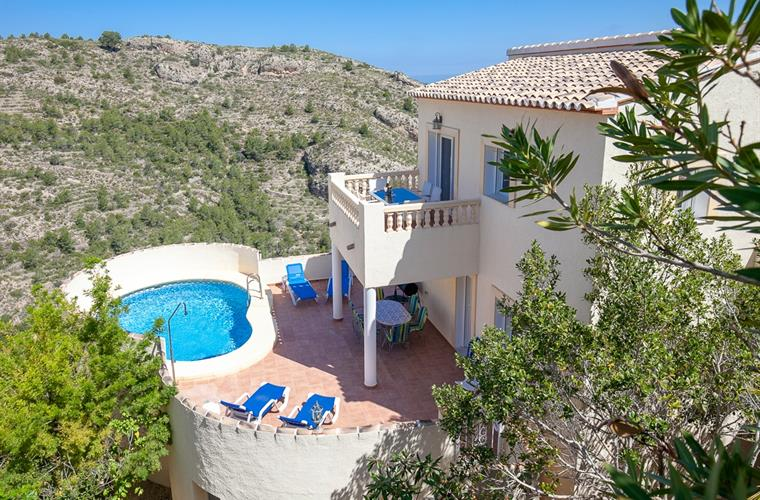 Villa for rent in Monte Pedreguer