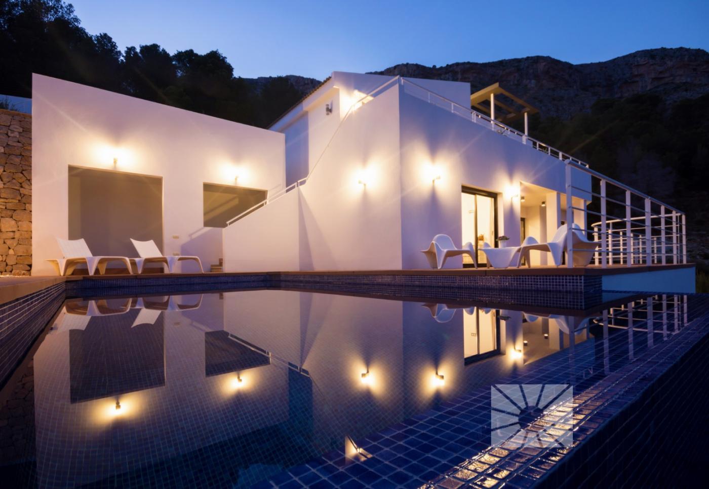 Villas for sale in Altea - 5 exclusive villas in a gated complex, with fantastic sea views, currentl,Spain
