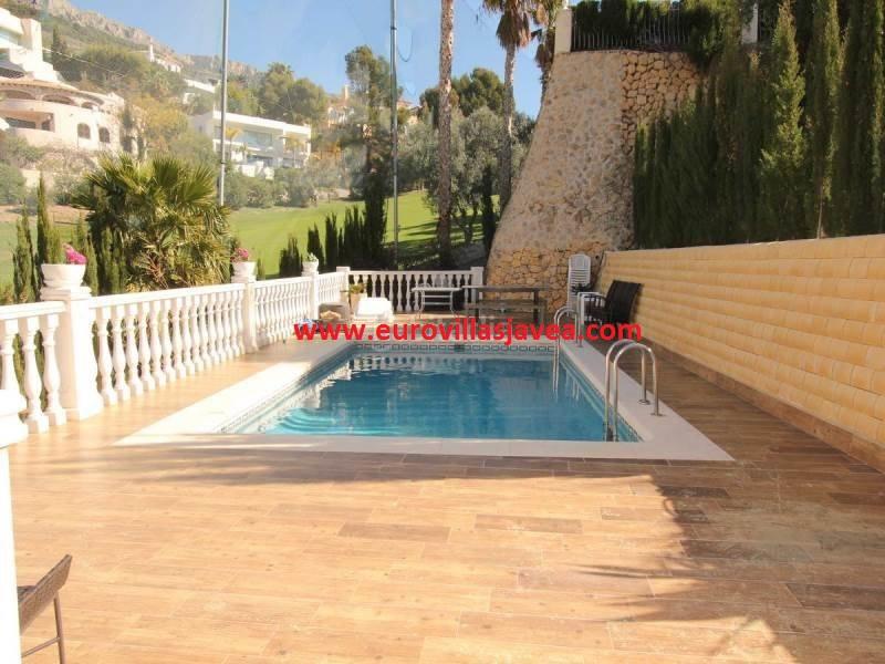 Long Term Rental - Altea La Vella - 4 bedroom Villa with private pool adjoining Altea Golf Club - av,Spain